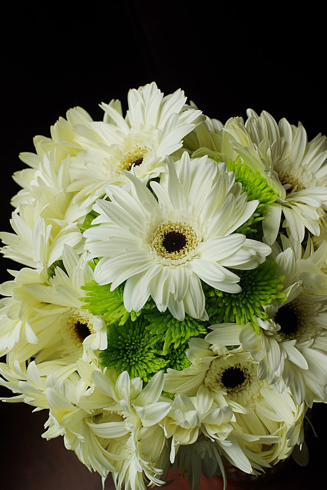 White and green top bouquets maggies farm flowers and events white and green topg mightylinksfo