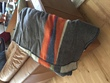 Woolrich Blanket-Grey with Orange-Blue Stripe.jpg