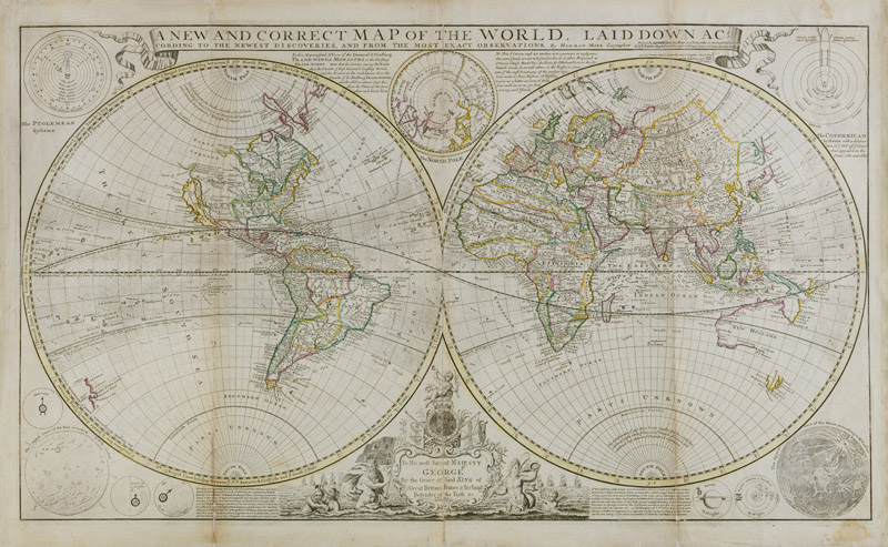 MSm93 New Correct World Map :: Atlases - Maps - Charts :: The ...