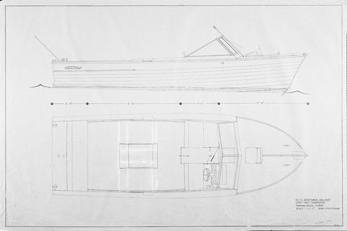 10-00-00434 Deck Arrangement Profile 27ft Sportsman Sea Skiff.jpg