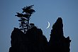 crescent moon and seastack 0714_M3C4374 m.jpg