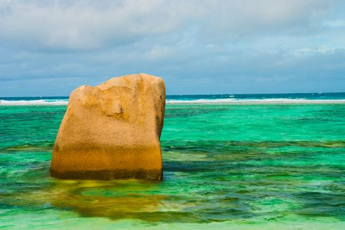 Anse Source Dargent Beach La Digue Seychelles Rock.jpg