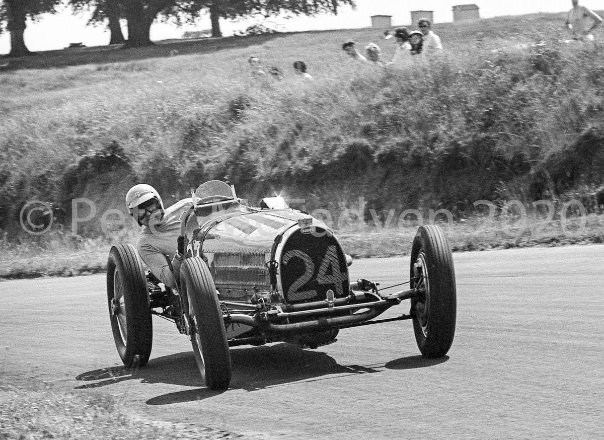 Neil Corner, Bugatti - 1970 Seaman Trophy race, Oulton Park