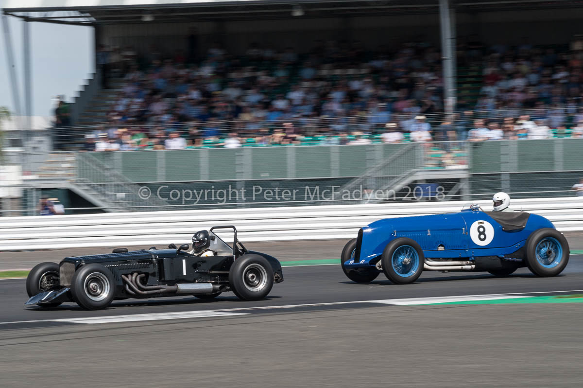 Bentley Drivers Club Silverstone race meeting
