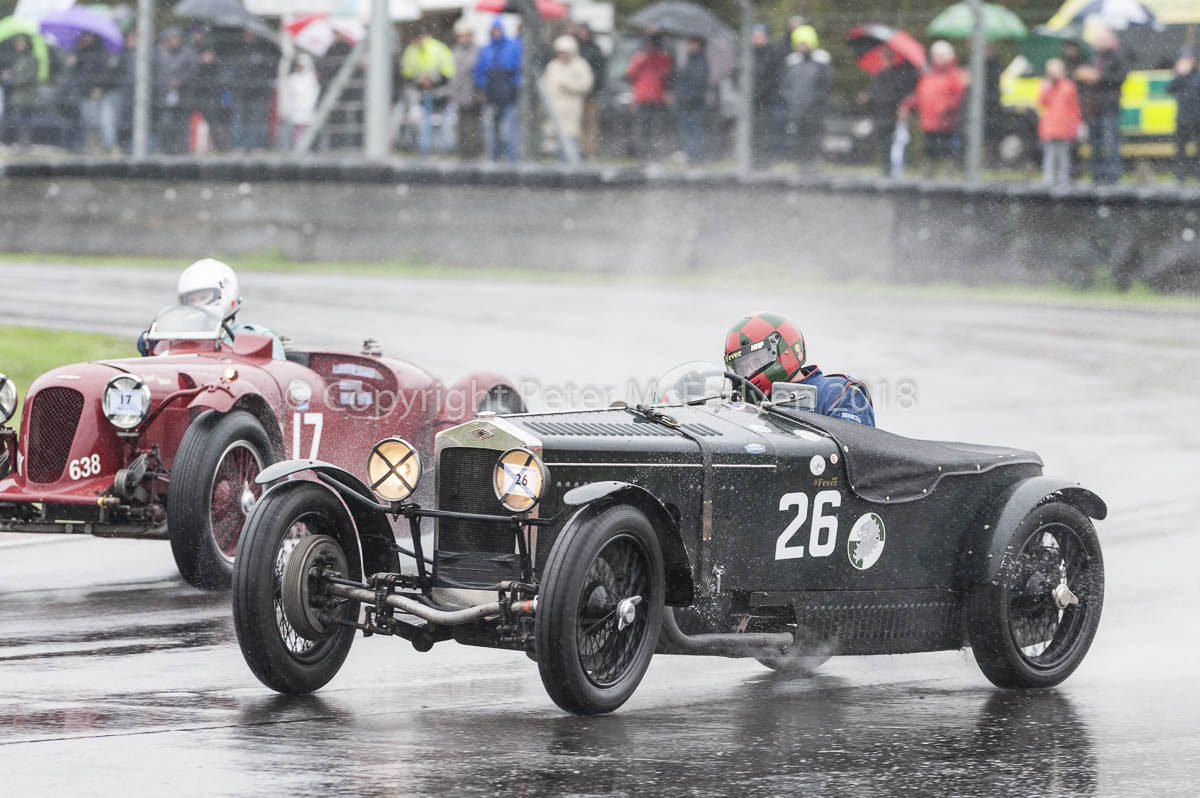 Pre-War Sports Cars at Castle Combe