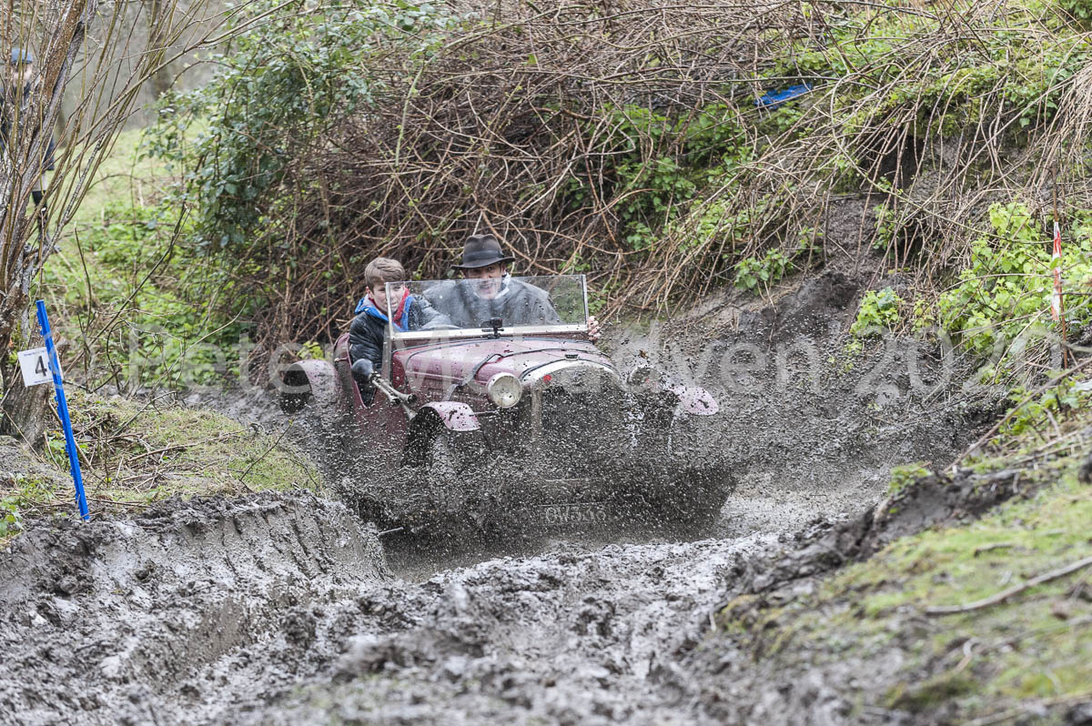 The mud splash at Sipping Cider on the Herefordshire Trial