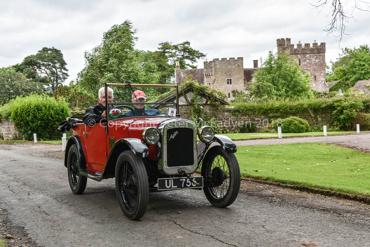 Light Car & Edwardian Section Summer Rally in Shropshire