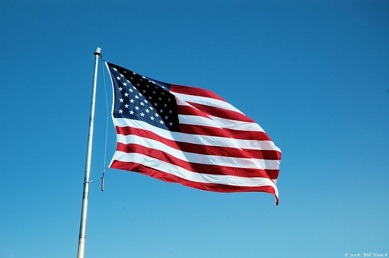 86_DSC_2373 US Flag 031306.jpg :: The American flag is a symbol known around the world - for freedom.