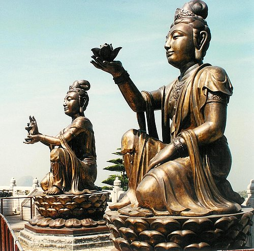 Lantau Island - Po Lin Monastry 12.jpg