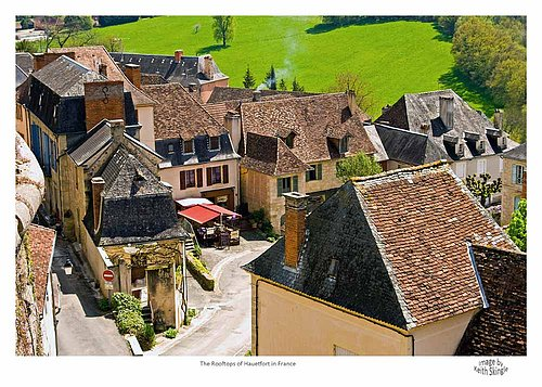 The Rooftops of Hautefort.jpg
