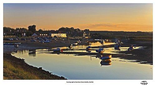 Evening Light Burnham Overy Staithe.jpg