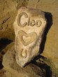 Medium Stone Pet Memorial Example Cleo Heart Horseshoe.jpg