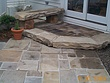 Reclaimed Curbstone and Sidewalk Stone Patio Installation with Bench GATES MILLS OH.jpg