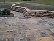 Reclaimed Curbstone and Sidewalk Stone Patio and Retaining Wall Installation GATES MILLS OH.jpg