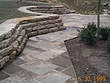Salvaged Curbstone and Sidewalk Stone Patio Installation GATES MILLS OH 2.jpg