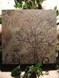 Slate Tile Art of Tree Sun and Flowers.jpg