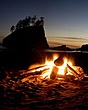Beach fire Pacific Ocean Coast Washington.jpg
