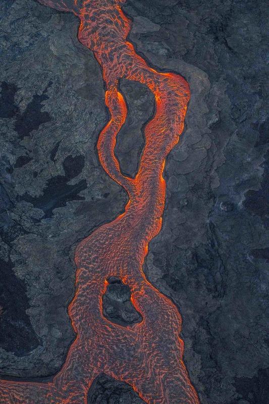 RZ2869.jpg :: 2018 volcanic eruption in Leilani Estates subdivision on the Big Island of Hawaii.