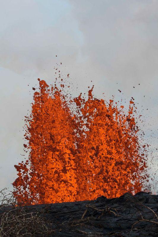 RZ6507.jpg :: 2018 volcanic eruption in Leilani Estates subdivision on the Big Island of Hawaii.