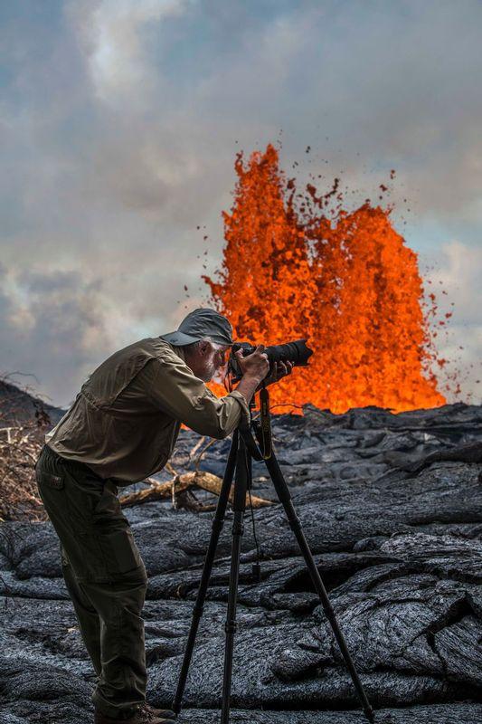 RZ6530.jpg :: 2018 volcanic eruption in Leilani Estates subdivision on the Big Island of Hawaii.